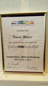 CMB Zertifikat